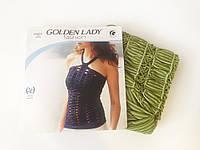 Женская майка-сетка Golden Lady, цвет салатовый