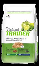 Корм Trainer (Трейнер) NATURAL Adult MAXI Con Pollo Fresco для дорослих собак великих порід з куркою та рисом, 12 кг