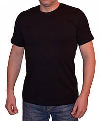 Черная футболка круглый ворот Ceylanoglu 042-2