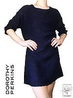 Женское вязанное платье Dorothy Perkins синее р. М 46-48