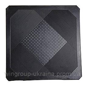 Коврик резиновый бытовой 50/50 см