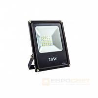 Прожектор Евросвет EVRO LIGHT ES-20-01 20W 1100Lm 6400K IP65 SMD, фото 1