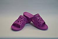 Сланцы женские Бабочка фиолетовые, фото 1