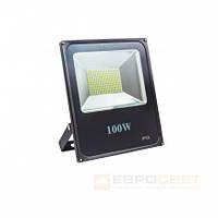 Прожектор Евросвет EVRO LIGHT ES-100-01 100W 5500Lm 6400K IP65 SMD, фото 1
