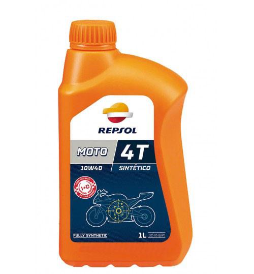 Моторное масло Repsol Moto Sintetico 4T 10W40 (1л)