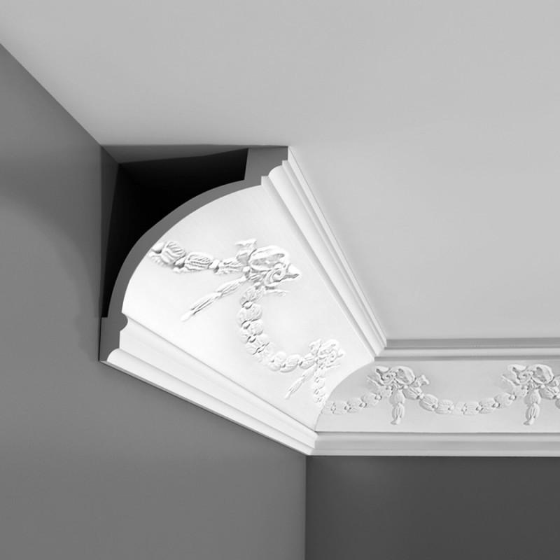 Лепнина Орак декор C218 Карниз с орнаментом Orac Luxxus