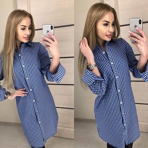 62b4fd4a8 Женская стильная длинная рубашка : продажа, цена в Киеве. блузки и туники  женские от