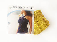 Женская майка-сетка Golden Lady, цвет горчичный