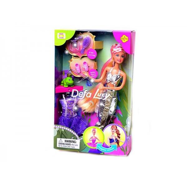 Кукла DEFA 6021 Русалка с платьем