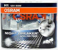 Лампа галогенная Osram H1 +110