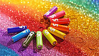 Пальчиковые батарейки Xiaomi Alkaline Battery ZI5 Rainbow LR06 AA 10шт
