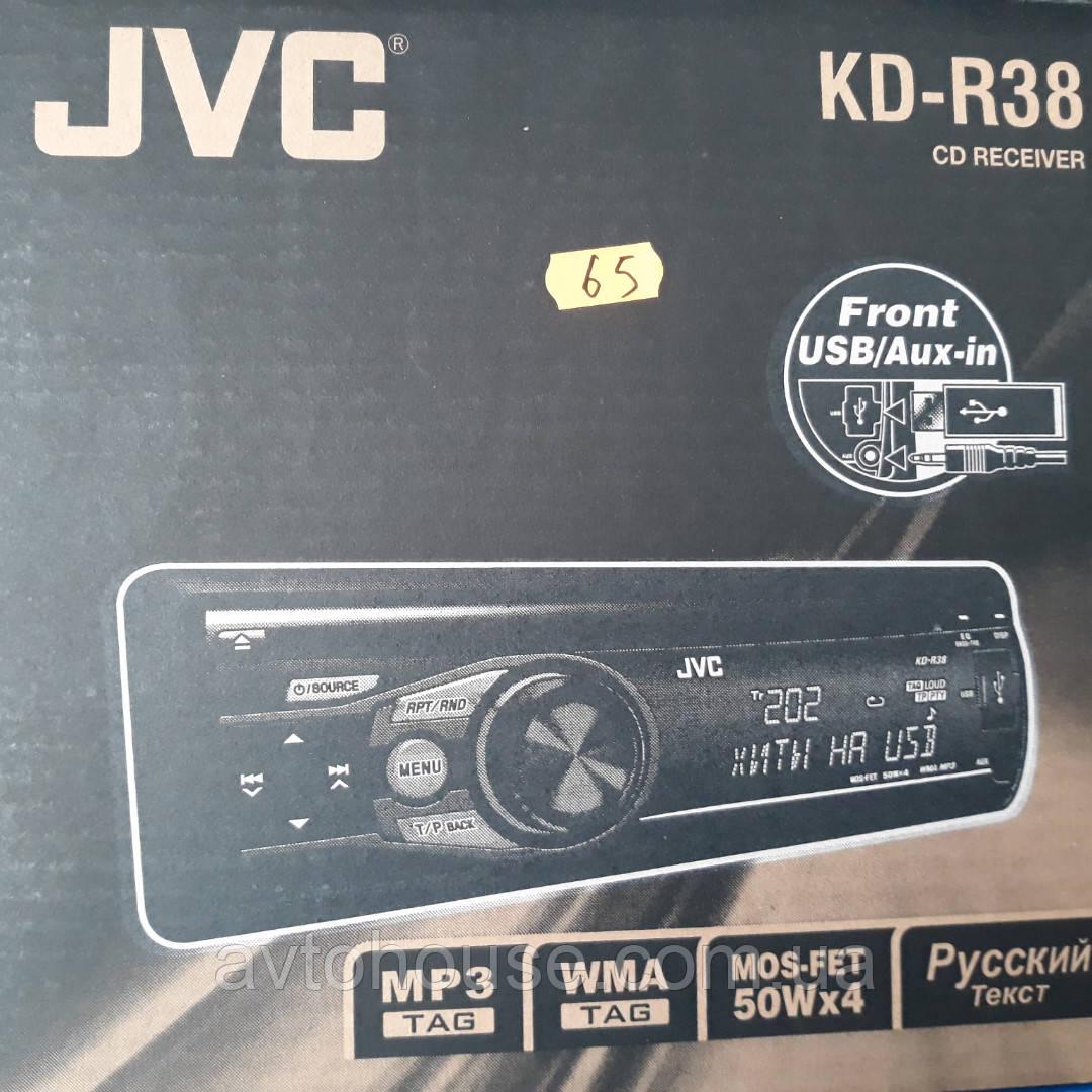 Автомагнитола JVC KD-R38