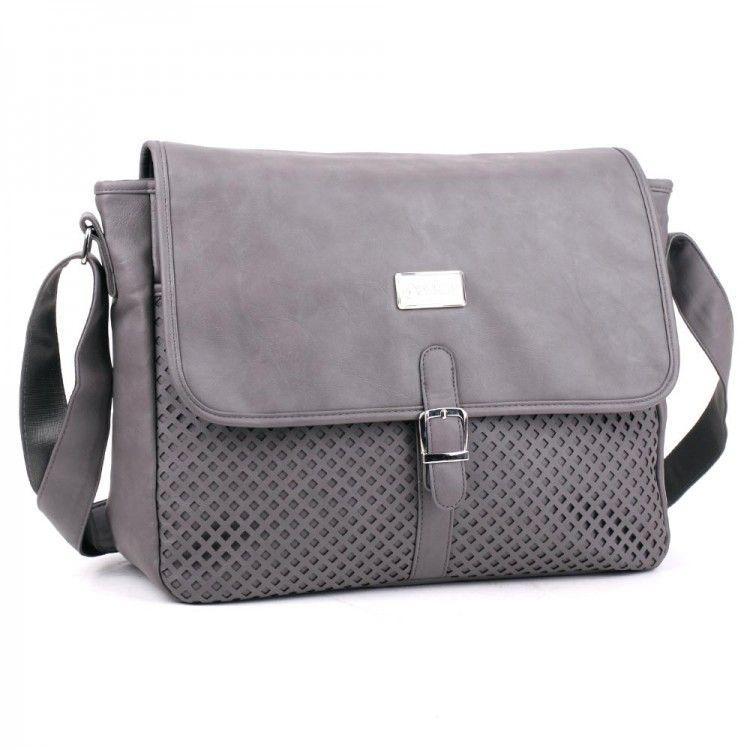 Сумка женская на плечо серая Derby арт. 570337,08 - Интернет-магазин сумок 08f486f3b6f