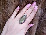 Кільце низький лабрадор в сріблі. Кільце з лабрадором 17 розмір Індія, фото 3