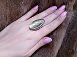 Кільце низький лабрадор в сріблі. Кільце з лабрадором 17 розмір Індія, фото 2