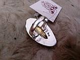 Кільце низький лабрадор в сріблі. Кільце з лабрадором 17 розмір Індія, фото 6