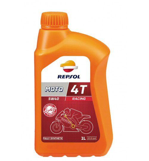 Моторное масло Repsol Moto Racing 4T 5W40 (1л)