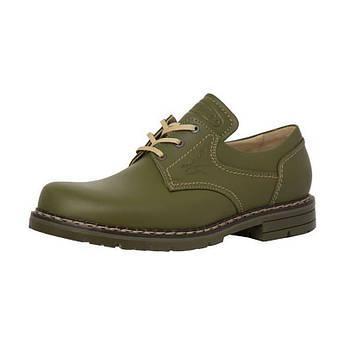 Ботинки Акрополис кожаные хаки для рыбаков МТШ-1р