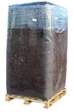 Торф верховой фрезерный, кипований (Фракция  0-40 мм),pH 3,2-4,3 ,5000л