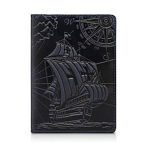 "Обложка для паспорта  HiArt PC-01 Shabby Ink ""Discoveries"""