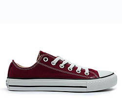 "Кеды Converse Chuck Taylor All Star Low ""Bordo"""