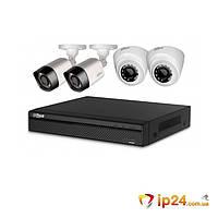 Комплект видеонаблюдения Dahua KIT-CV4FHD-2B/2D, фото 1