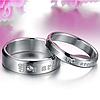 """Кольца для влюбленных """"You are mine"""", в наличии жен. 17.3, 18, муж. 18"""