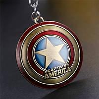 """Оригинальный брелок для ключей из металла """"Капитан Америка""""!, фото 1"""