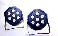 Прожектор для светомузыки, праздничного и интерьерного освещения Led par 7x10W RGBW dmx