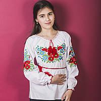 """Детская сорочка вышиванка для девочки """"Макро"""", фото 1"""