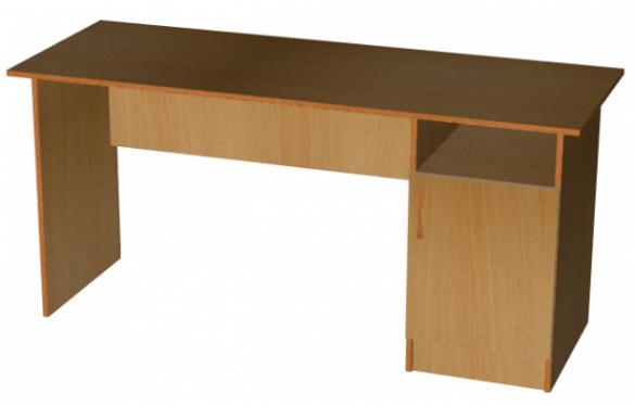 Стол прямой с тумбой 160х60, фото 2