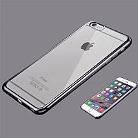 Чехол Iphone 6+ / 6 Plus / 6S+ / 6S Plus силикон TPU темно-серый