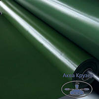 Лодочная ткань ПВХ, цвет зеленый, для надувных лодок