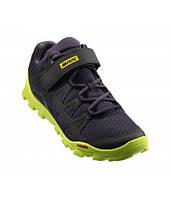 Обувь Mavic CROSSRIDE размер UK 11,5 (46 2/3, 295мм) Pirate Black/Safety Yellow черно-желтая