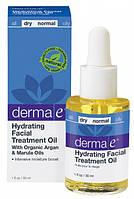 Увлажняющее терапевтическое масло для кожи лица Derma E (США)