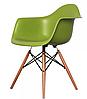 Кресло офисное пластиковое, кресло для ожидания, кресло садовое (Тауэр Вуд зеленый), фото 2