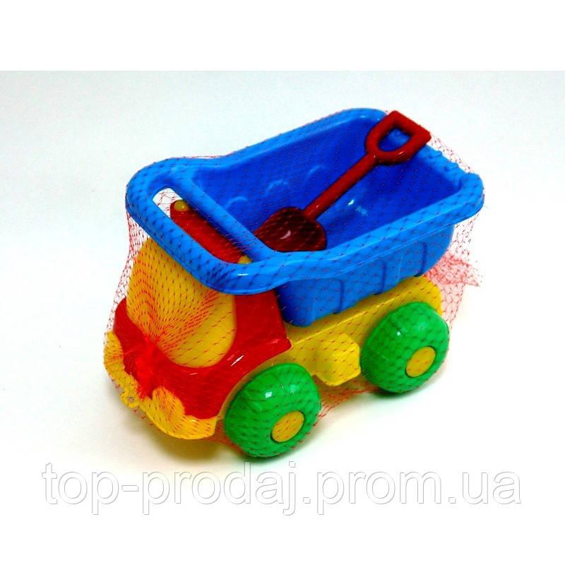 Машинка Шмелек 07-718 М, игрушечный грузовик, детская лопатка, игрушка