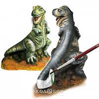 Набор Ses для создания гипсовой фигурки T-rex (гипс, формочка, краски, кисточка)
