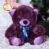 Плюшевый медвежонок Томми, фиалковый, фото 2