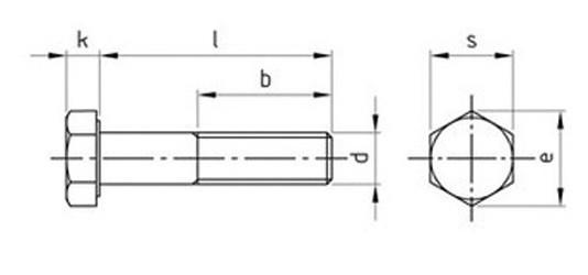 Болт М33 DIN 931 купить