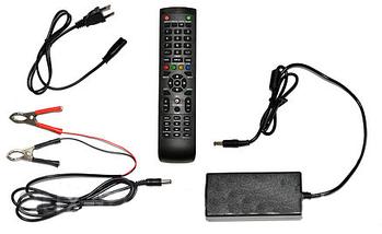 "Телевизор LED backlight tv L17 15.6"" (40 см) для кухни, дачи, гаража, автотранспорта, фото 3"