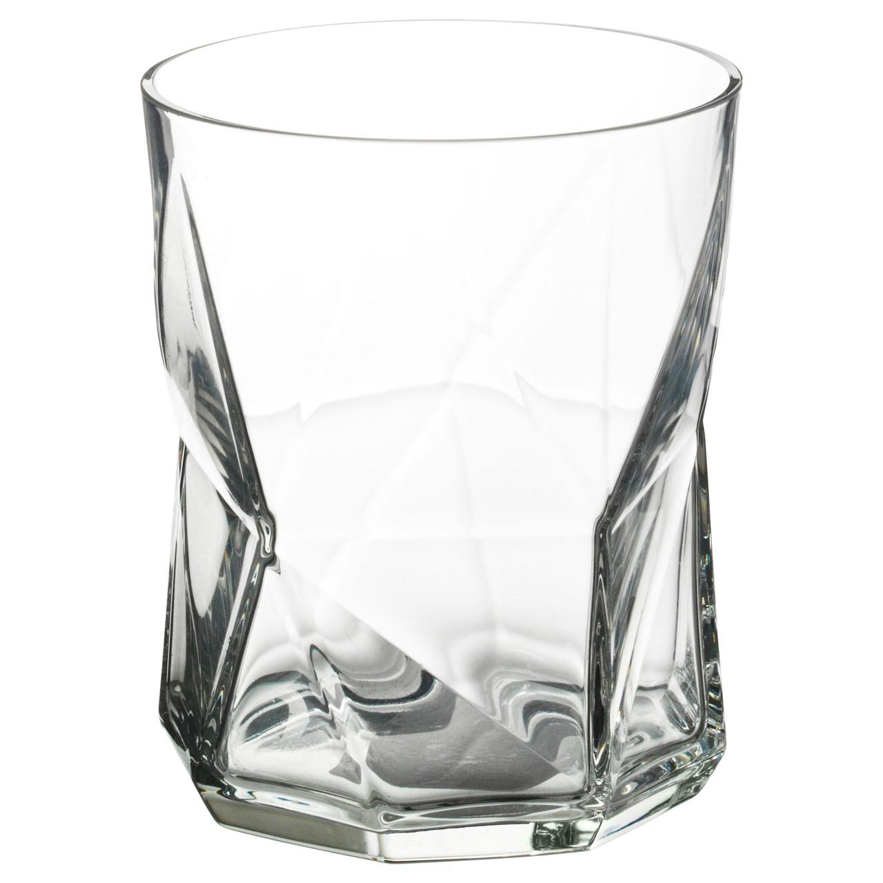 """ИКЕА """"ПЛЭНЕРА"""", Стакан, прозрачное стекло, 370мл."""
