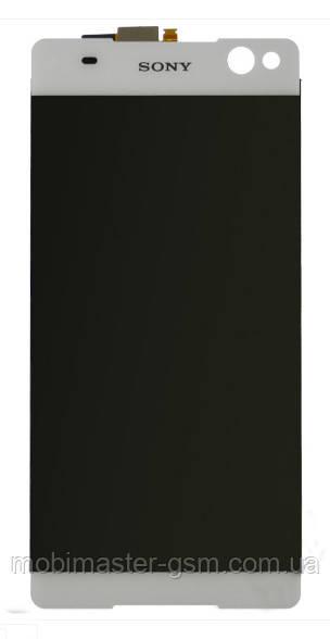 LCD модуль Sony E5506 / E5533 / E5563 Xperia C5 Ultra Dual белый