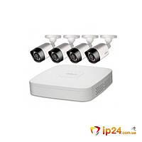 Комплект видеонаблюдения Dahua KIT-CV4FHD-4B