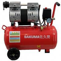 Компрессор  Sakuma T55024 (0,8 кВт, 160 л/мин, 24 л)