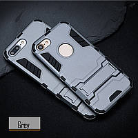 Чехол Apple Iphone 7 Hybrid Armored Case темно-серый