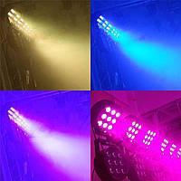 Led par 9x12 для концертного освещения, светомузыки