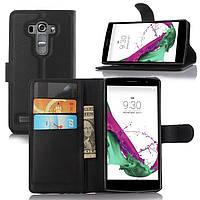 Чехол LG G4S / G4Beat / H734 книжка PU-Кожа черный