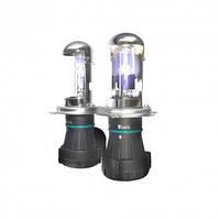 Лампа биксенон Infolight Pro 50W. Лампа с цоколем H4 (Ближний+Дальний) (4200К/5000К/6000К). С проводкой