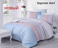 Постельное бельё Altinbasak Espinele mavi полуторный